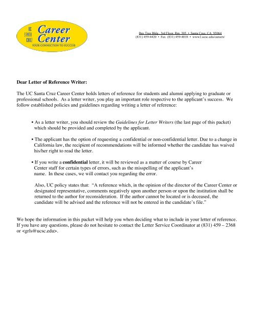 professional letter writers sites for university