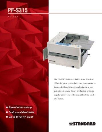 a PDF Spec Sheet - Associated Office Equipment