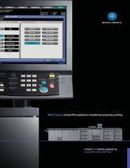 bizhub PRO solutions to revolutionize production - Konica Minolta
