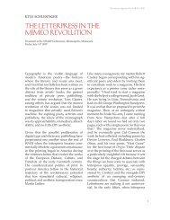 The LeTTerpress in The MiMeo revoLuTion - Kyle Schlesinger