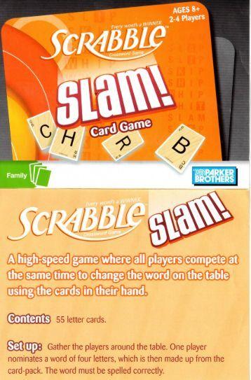 Scrabble slam instructions