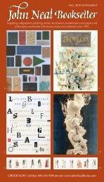 Supplying calligraphers, lettering artists, illuminators, bookbinders ...