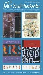 Winter 2013 Supplement Low Resolution - John Neal, Bookseller