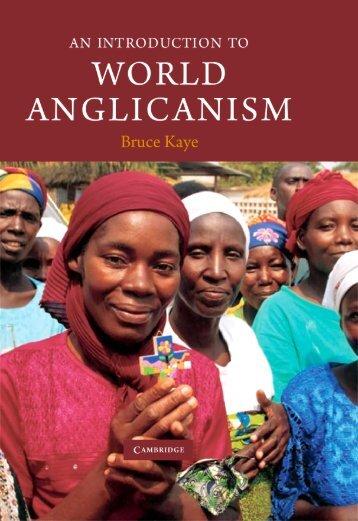 An Introduction to World Anglicanism - Centro de Estudos Anglicanos