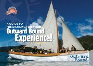 see our Fundraising Guide - Outward Bound