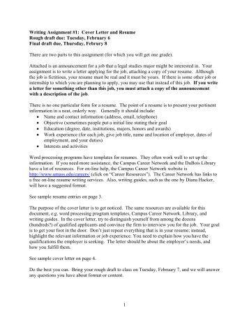 unique resume cover letter samples