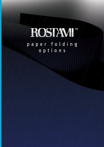 Paper Folding Options - Rostami