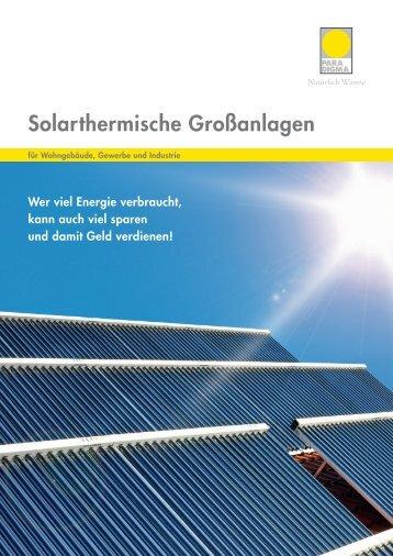 XL Solar Broschüre