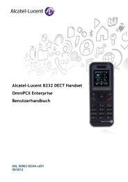 DECT 8232 Benutzerhandbuch