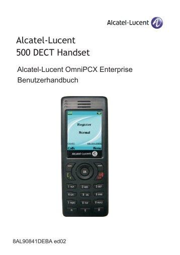 Alcatel-Lucent 500 DECT Handset - INTERTRADE direkt