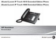 IP-Touch 4008/4018 EE Benutzerhandbuch