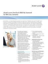 Datenblatt IBM® Lotus® Sametime