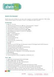 AlwinPro Care - Datenblatt