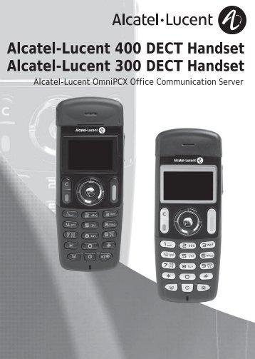 DECT 300/400 Benutzerhandbuch