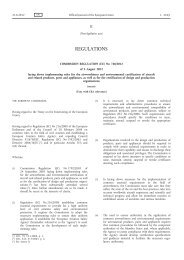 Commission Regulation (EU) No 748/2012 of 3 August 2012 laying ...