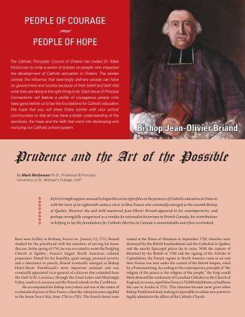 Bishop Jean-Olivier Briand - CPCO