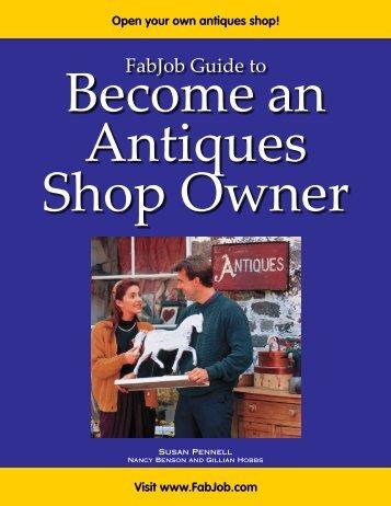 Antiques Shop Owner - Fabjob.com