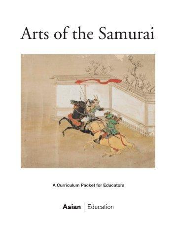 Arts of the Samurai Educator Packet - Asian Art Museum   Education