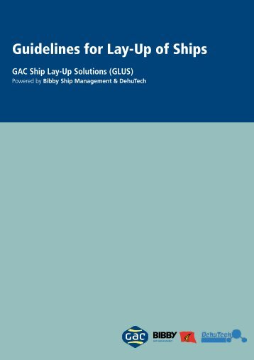 Ship Lay-Up Guidelines - GAC
