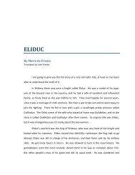 Eliduc, Marie de France