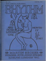 Rhythm Volume 2 Number 14 (March 1913) - the CDI home page.