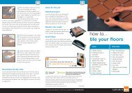 how to... tile your floors - B&Q