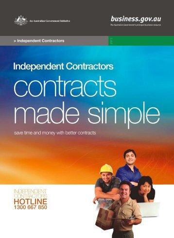 save time and money with better contracts - Business.gov.au