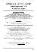 KONDITIONEN / INFORMATIONEN - Seite 2
