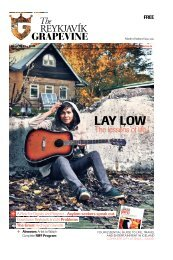 LAY LOW - The Reykjavik Grapevine