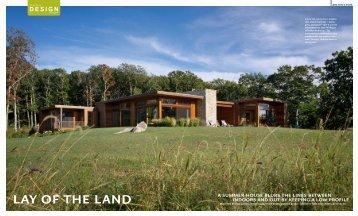 Design New England Magazine – Lay of the Land - Jaci Conry