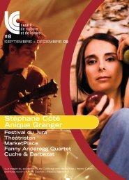 Stéphane Côté Anique Granger Festival du Jura Théâtristan ...