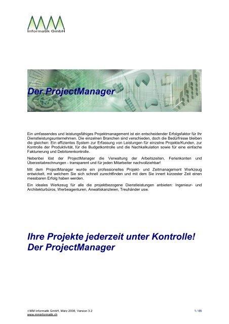 Cv Curriculum Vitae Verwaltung Mm Informatik