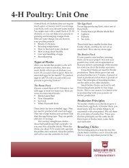 p0255 4-H Poultry: Unit One - MSUcares