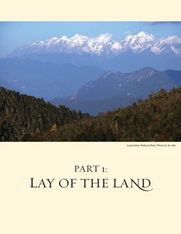 LAY OF THE LAND - The Nature Conservancy