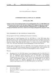 COMMISSION REGULATION (EC) No 1828/2006 - EUR-Lex - Europa