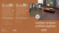 Roppe Northern Timbers/Northern Leathers Brochure