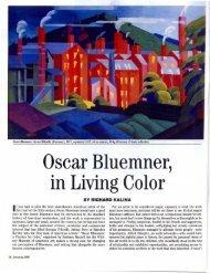 Oscar Bluemner, in Living Color - Richard Kalina