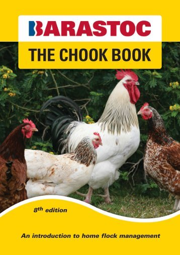 THE CHOOK BOOK - Ridley Corporation