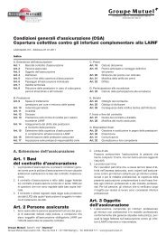CGA inf. complementare LAINF - PDF (213Kb) - Groupe Mutuel