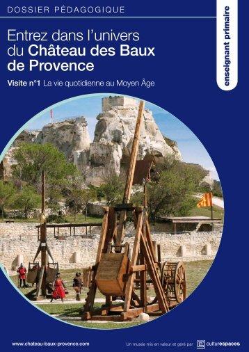 dossier primaire - Château des Baux de Provence