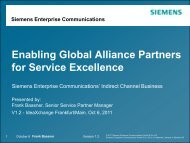 Enabling Global Alliance Partners for Service Excellence - SolveDirect
