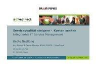 Servicequalität steigern – Kosten senken Integriertes ... - SolveDirect