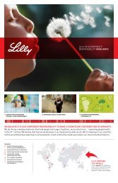 2010 Lilly Corporate Responsibility Summary - Eli Lilly and Company