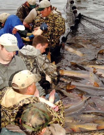 Clear Lake Carp Roundup - Iowa Department of Natural Resources