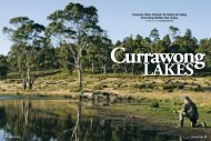 Tasmania offers fantastic fly fishing for tailing ... - Currawong Lakes