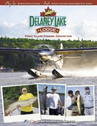 First Class Fishing Adventure - Delaney Lake Lodge