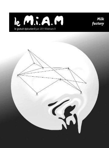 Télécharger le M.I.A.M en PDF - La Milk Factory