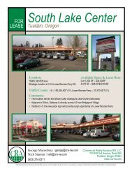 South Lake Center FLY - Commercial reality Advisors