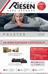 P O L S T E R 2010 - Möbel Riesen