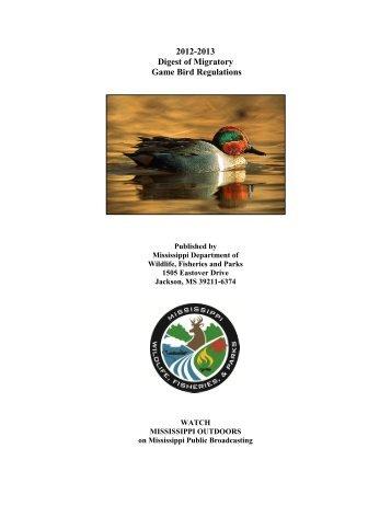 Wisconsin migratory bird season download pdf for Wisconsin dnr fishing regulations